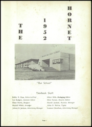 Page 5, 1952 Edition, Washington High School - Hornet Yearbook (El Dorado, AR) online yearbook collection