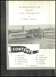 Page 6, 1952 Edition, Washington High School - Hornet Yearbook (El Dorado, AR) online yearbook collection