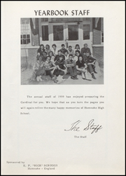 Page 7, 1959 Edition, Humnoke High School - Cardinal Yearbook (Humnoke, AR) online yearbook collection