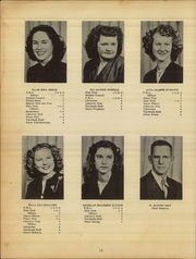 Page 14, 1949 Edition, Norman High School - Eagle Yearbook (Norman, AR) online yearbook collection