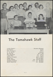 Page 7, 1957 Edition, Village High School - Tomahawk Yearbook (Village, AR) online yearbook collection