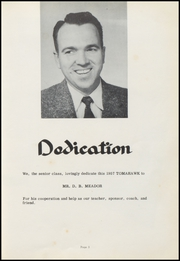 Page 9, 1957 Edition, Village High School - Tomahawk Yearbook (Village, AR) online yearbook collection