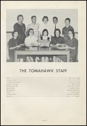 Page 7, 1959 Edition, Village High School - Tomahawk Yearbook (Village, AR) online yearbook collection