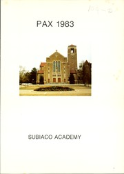 Page 5, 1983 Edition, Subiaco Academy - PAX Yearbook (Subiaco, AR) online yearbook collection