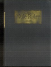 1923 Edition, Southern Arkansas University - Mulerider Yearbook (Magnolia, AR)