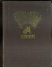 Page 1, 1925 Edition, Southern Arkansas University - Mulerider Yearbook (Magnolia, AR) online yearbook collection