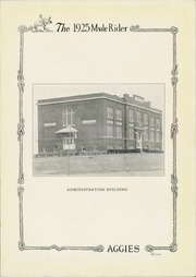 Page 17, 1925 Edition, Southern Arkansas University - Mulerider Yearbook (Magnolia, AR) online yearbook collection