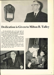 Page 11, 1968 Edition, Southern Arkansas University - Mulerider Yearbook (Magnolia, AR) online yearbook collection