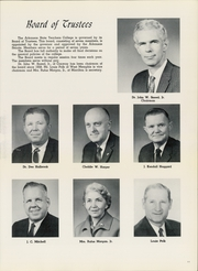 Page 15, 1963 Edition, University of Central Arkansas - Scroll Yearbook (Conway, AR) online yearbook collection