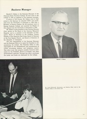 Page 17, 1965 Edition, University of Central Arkansas - Scroll Yearbook (Conway, AR) online yearbook collection