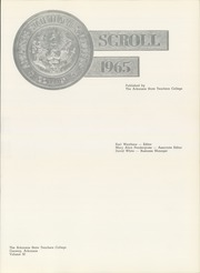 Page 5, 1965 Edition, University of Central Arkansas - Scroll Yearbook (Conway, AR) online yearbook collection