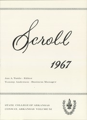 Page 5, 1967 Edition, University of Central Arkansas - Scroll Yearbook (Conway, AR) online yearbook collection