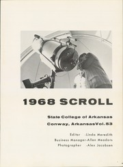 Page 5, 1968 Edition, University of Central Arkansas - Scroll Yearbook (Conway, AR) online yearbook collection