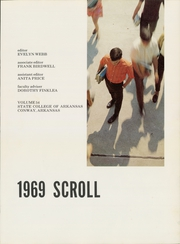 Page 5, 1969 Edition, University of Central Arkansas - Scroll Yearbook (Conway, AR) online yearbook collection