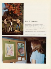 Page 9, 1971 Edition, University of Central Arkansas - Scroll Yearbook (Conway, AR) online yearbook collection