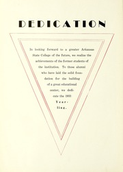 Page 10, 1933 Edition, Arkansas State University - Indian Yearbook (Jonesboro, AR) online yearbook collection