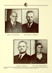 Page 14, 1940 Edition, Arkansas State University - Indian Yearbook (Jonesboro, AR) online yearbook collection