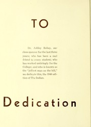 Page 8, 1940 Edition, Arkansas State University - Indian Yearbook (Jonesboro, AR) online yearbook collection