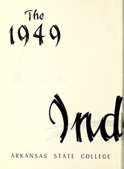 Page 6, 1949 Edition, Arkansas State University - Indian Yearbook (Jonesboro, AR) online yearbook collection