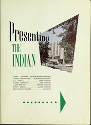 Page 5, 1958 Edition, Arkansas State University - Indian Yearbook (Jonesboro, AR) online yearbook collection