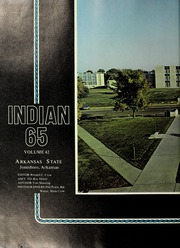 Page 8, 1965 Edition, Arkansas State University - Indian Yearbook (Jonesboro, AR) online yearbook collection