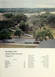 Page 5, 1972 Edition, Arkansas State University - Indian Yearbook (Jonesboro, AR) online yearbook collection