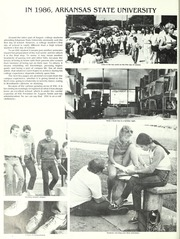 Page 8, 1986 Edition, Arkansas State University - Indian Yearbook (Jonesboro, AR) online yearbook collection