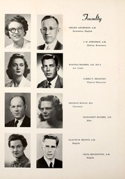 Page 16, 1951 Edition, University of Arkansas at Little Rock - Trojan Yearbook (Little Rock, AR) online yearbook collection