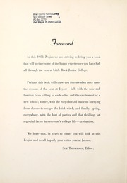 Page 6, 1951 Edition, University of Arkansas at Little Rock - Trojan Yearbook (Little Rock, AR) online yearbook collection