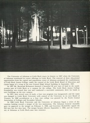 Page 7, 1970 Edition, University of Arkansas at Little Rock - Trojan Yearbook (Little Rock, AR) online yearbook collection