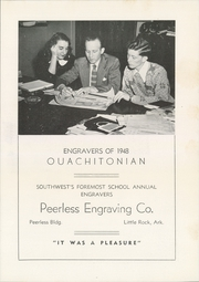 Page 247, 1948 Edition, Ouachita Baptist College - Ouachitonian Yearbook (Arkadelphia, AR) online yearbook collection