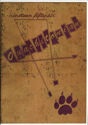 Page 1, 1956 Edition, Ouachita Baptist College - Ouachitonian Yearbook (Arkadelphia, AR) online yearbook collection