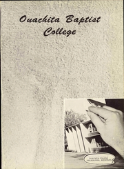 Page 7, 1956 Edition, Ouachita Baptist College - Ouachitonian Yearbook (Arkadelphia, AR) online yearbook collection