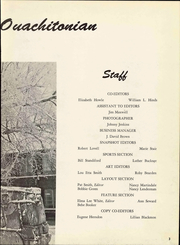 Page 9, 1956 Edition, Ouachita Baptist College - Ouachitonian Yearbook (Arkadelphia, AR) online yearbook collection