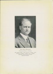 Page 13, 1922 Edition, Hendrix College - Troubadour Yearbook (Conway, AR) online yearbook collection