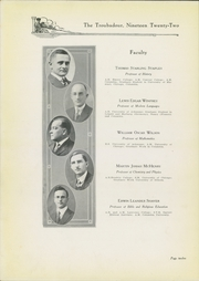 Page 16, 1922 Edition, Hendrix College - Troubadour Yearbook (Conway, AR) online yearbook collection