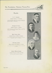 Page 17, 1922 Edition, Hendrix College - Troubadour Yearbook (Conway, AR) online yearbook collection