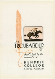 Page 7, 1932 Edition, Hendrix College - Troubadour Yearbook (Conway, AR) online yearbook collection