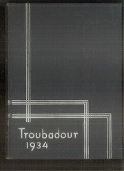 Hendrix College - Troubadour Yearbook (Conway, AR) online yearbook collection, 1934 Edition, Page 1