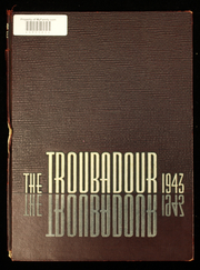 1943 Edition, Hendrix College - Troubadour Yearbook (Conway, AR)