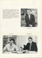 Page 15, 1960 Edition, Hendrix College - Troubadour Yearbook (Conway, AR) online yearbook collection