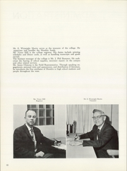 Page 16, 1960 Edition, Hendrix College - Troubadour Yearbook (Conway, AR) online yearbook collection