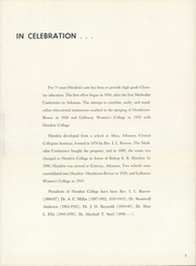 Page 9, 1960 Edition, Hendrix College - Troubadour Yearbook (Conway, AR) online yearbook collection