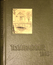 1965 Edition, Hendrix College - Troubadour Yearbook (Conway, AR)
