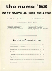 Page 10, 1963 Edition, University of Arkansas at Fort Smith - Numa Yearbook (Fort Smith, AR) online yearbook collection