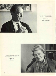 Page 14, 1963 Edition, University of Arkansas at Fort Smith - Numa Yearbook (Fort Smith, AR) online yearbook collection