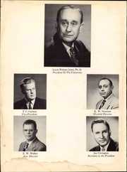 Page 10, 1951 Edition, University of Arkansas for Medical Sciences - Caduceus Yearbook (Little Rock, AR) online yearbook collection