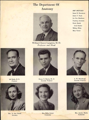 Page 12, 1951 Edition, University of Arkansas for Medical Sciences - Caduceus Yearbook (Little Rock, AR) online yearbook collection