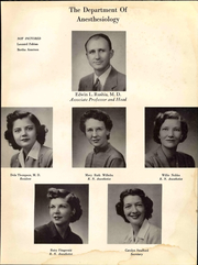 Page 13, 1951 Edition, University of Arkansas for Medical Sciences - Caduceus Yearbook (Little Rock, AR) online yearbook collection