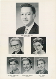 Page 11, 1957 Edition, University of Arkansas for Medical Sciences - Caduceus Yearbook (Little Rock, AR) online yearbook collection